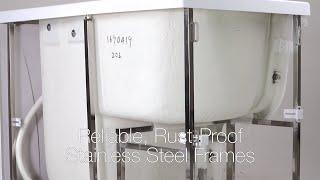 Ella's Walk-in Tub Superior Frame and Shell Design Video