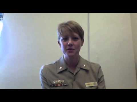 Ocean Careers Profile #1: Navy Oceanography Officer Jen Landry