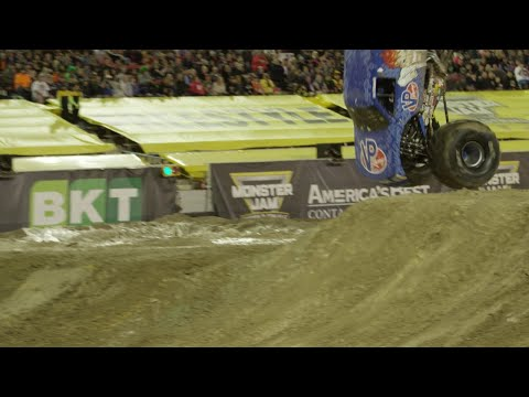 And Now For Something Completely Different: Here's A Monster Truck Doing A Front Flip