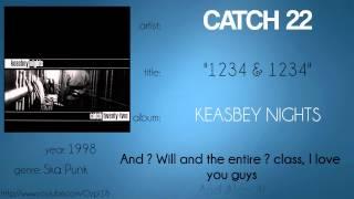 Catch 22 - 1234 & 1234 (synced lyrics)