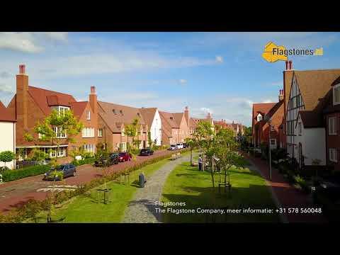 Flagstone paden - speeltuin Tudorpark Hoofddorp