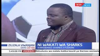 Mabingwa wa Kombe la Ngao Kariobangi Sharks studioni | Part 2