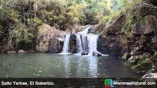 preview picture of video 'Salto Yerbas, El Soberbio. Misiones Natural'