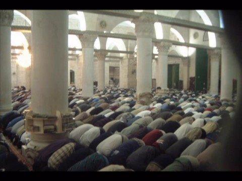امام المسجد الأقصى المبارك الشيخ سعيد داود القلقيلي