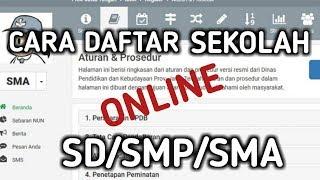 Cara Daftar Sekolah Online