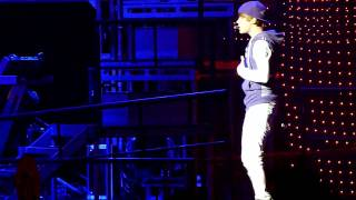 (HD) Justin Bieber Run Away Love & I'll Never Let You Go  Vancouver High Quality