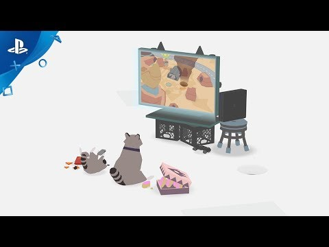 Annonce PS4 - Updog Gameplay Trailer de Donut County