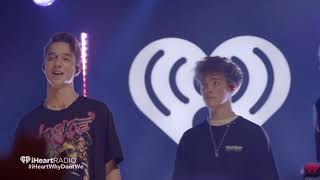 Why Don't We TALK (iheartradio live)