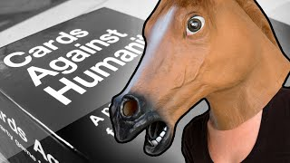 HORSE DONGERS! (Cards Against Humanity Funny Moments)