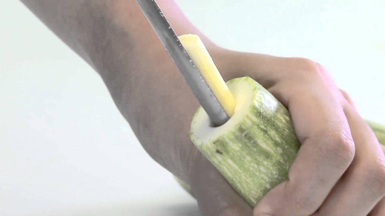 كيفية حفر الكوسا