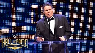 "Lanny Poffo inducts his brother, ""Macho Man"" Randy Savage, into the WWE Hall of Fame: March 28, 2015"