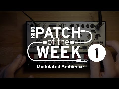 volca modular Patch of the Week 1: Modulated Ambience
