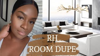 RESTORATION HARDWARE DUPES + HOMEGOODS SHOP WITH ME