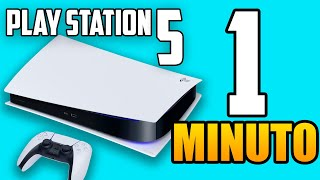 PlayStation 5 en 1 Minuto