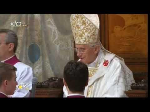 Messe et baptême d'enfants
