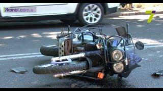 В Одессе неизвестный сбил байкера и сбежал с места ДТП