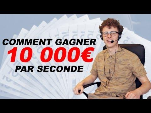Jak vydělávat 10 000 euro za vteřinu