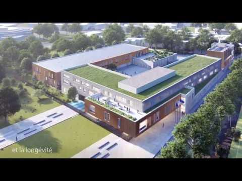 Reconstruction du lycée Marcel Cachin à Saint-Ouen-sur-Seine