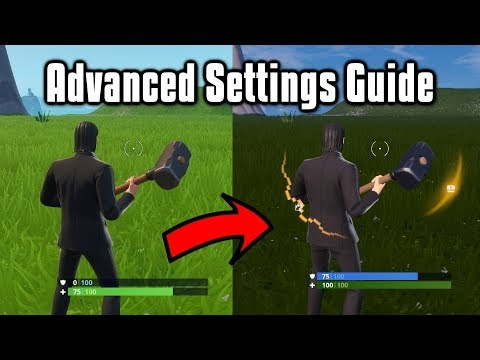 , title : 'Advanced Settings Guide For PC & Console - Fortnite Battle Royale (Season 9)'