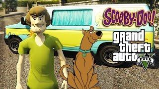 GTA 5 Mods - SCOOBY DOO MOD w/ Shaggy, Ghost Hunting, Mystery Machine (GTA 5 Mods Gameplay)