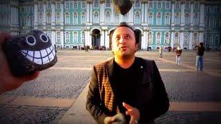 Санжар Шодиев(Боря).Уроки жонглирования булыжниками в Международный  день трезвости.