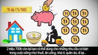"""cách tiết kiệm đúng đắng nhât """" 3 Cách quản lý tiền để giàu hơn """""""