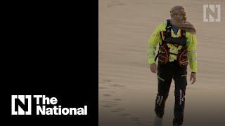 Meet the man who walked across the Rub Al Khali desert