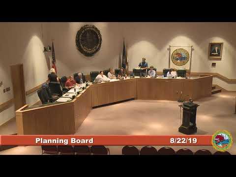 Planning Board 8.22.2019