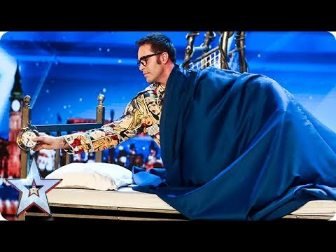 Prepare to be SPELLBOUND by Magus Utopia | Auditions | BGT 2018 (видео)