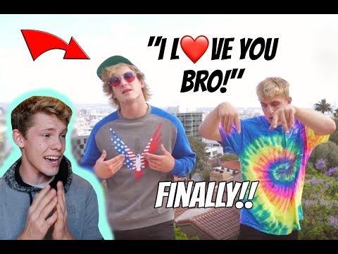Jake Paul - I Love You Bro (Song) feat. Logan Paul (Official Music Video) ** REACTION **