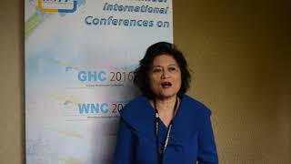 Dr. Esther Cheng at WNC Conference 2016 by GSTF