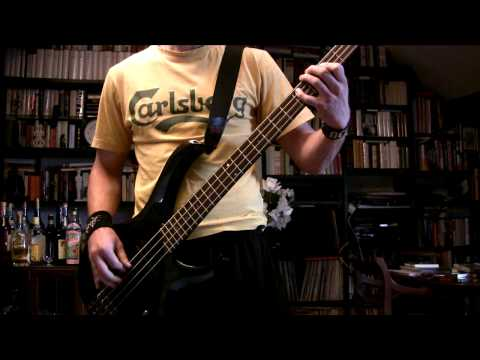 MANOWAR - Hand Of Doom Bass Cover