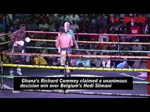 Freedom Fight Night: Richard Commey beats Hedi Slimani to WBC title