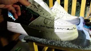 Air force one shoe Cutsom Patagonia