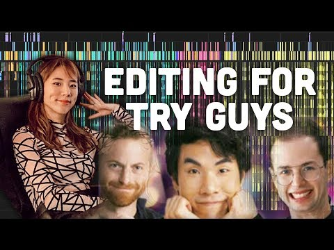EDITING The Try Guys Without A Recipe: Behind The Scenes | YB Chang