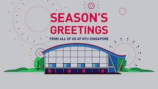 NTU Singapore year-end greetings: Animation