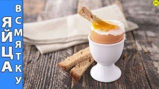 Как правильно и равномерно сварить яйцо всмятку