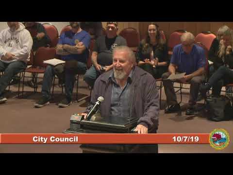 City Council 10 7 2019