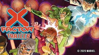 X-FACTOR #1 Trailer   Marvel Comics