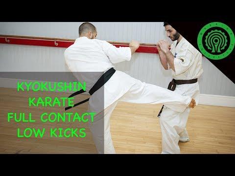 Kyokushin Karate Full Contact Low Kicks Tutorial