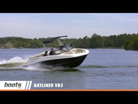 Bayliner VR5: Video Boat Review