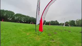 FPV LOG 39 / slow race track with pusher whoop