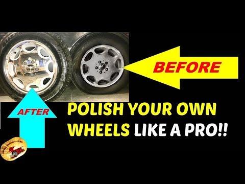 AMAZING Wheel/Rim Polishing Method