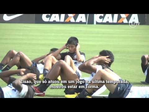Com Zizao e Elton, Corinthians passa por bateria de testes