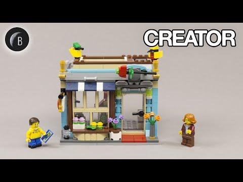 Vidéo LEGO Creator 31105 : Le magasin de jouets du centre-ville