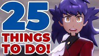 25 Things To Do After Finishing Pokémon Sword & Shield