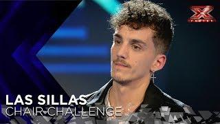 Israel del Amo hace que Risto se trague sus palabras con un tema propio | Sillas 1 | Factor X 2018 - Video Youtube