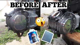 HOW TO POLISH YOUR MOTORCYCLE ENGINE (TAGALOG)