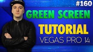 Vegas Pro 14: How To Use A Green Screen (Chroma Key) - Tutorial #160