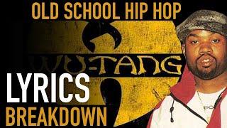 Wu-Tang Clan's C.R.E.A.M. LYRICS Breakdown & Meaning - Old School Hip hop series
